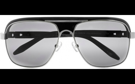 Alexander Wang, Aviator-Style Acetate and Metal Sunglasses, £260, Motilo.com