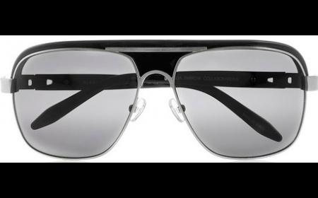Alexander Wang, Aviator-Style Acetate and Metal Sunglasses, £260, Motilo.com