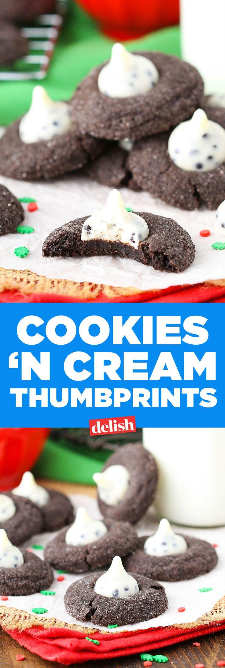 Cookies 'n Cream Blossom Cookies