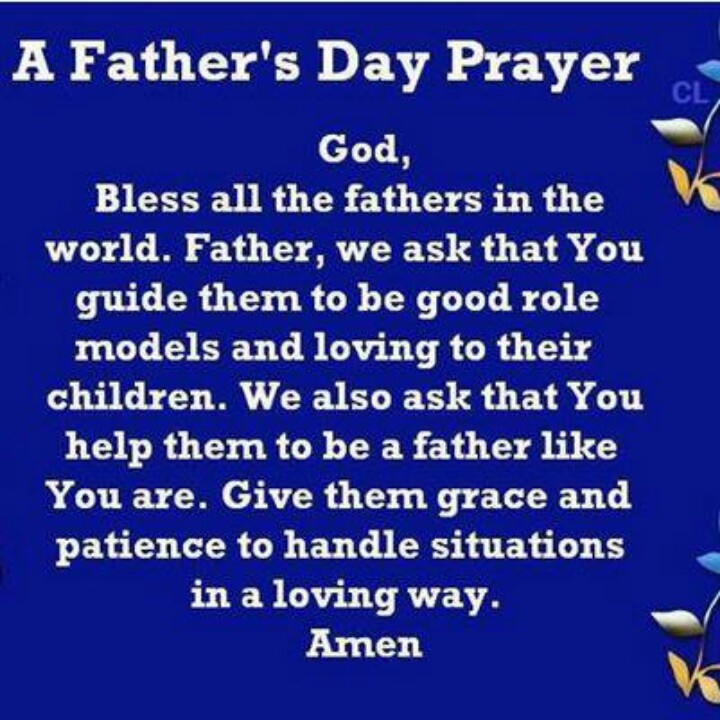 To My Son On Father S Day Quote: A Father's Day Prayer