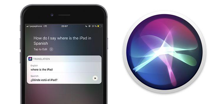Así funciona el traductor de Siri en iOS 11 - https://www.actualidadiphone.com/asi-funciona-traductor-siri-ios-11/