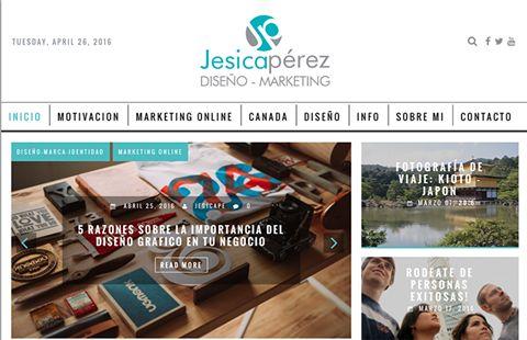 Ya visitaste mi #blog? Encontraras temas de #marketingonline, #motivacion, #diseño #tutoriales #canadá y mucho más.  Visitalo aquí! ►http://blog.jesicaperez.net/ ◄