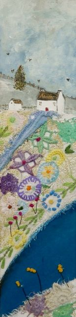 'The Flower garden' by Louise O'Hara of Drawntostitch https://www.facebook.com/DrawntoStitch
