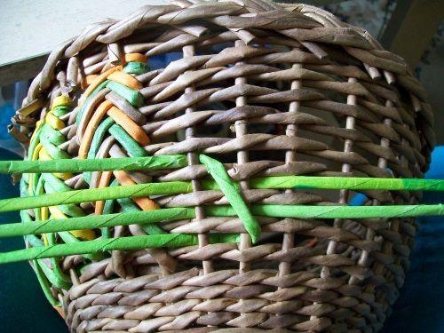 Тема: Маргаритки (галерея margolina) (115/156) - Плетение из газет и другие рукоделия - Плетение из газет
