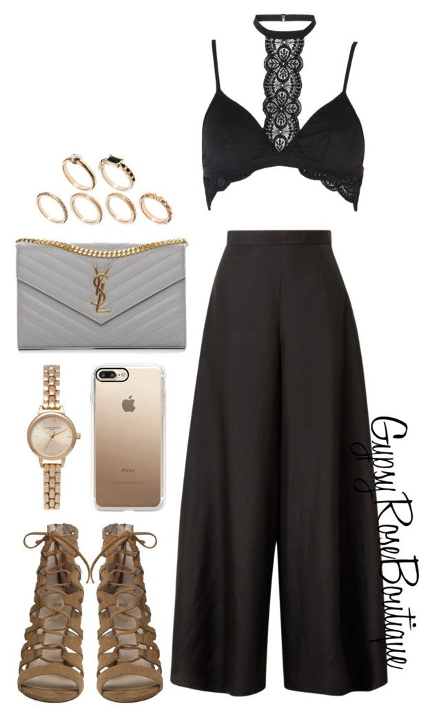 """""""#631"""" by gypsyroseboutique on Polyvore featuring The Row, Cosabella, Yves Saint Laurent, ASOS, Olivia Burton and Casetify"""