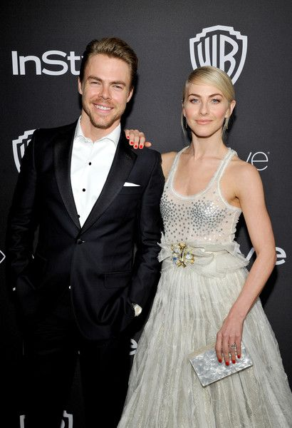 Derek Hough Photos Photos - Dancers Derek Hough (L) and Julianne Hough attend The 2017 InStyle and Warner Bros. 73rd Annual Golden Globe Awards Post-Party at The Beverly Hilton Hotel on January 8, 2017 in Beverly Hills, California. - The 2017 InStyle and Warner Bros. 73rd Annual Golden Globe Awards Post-Party - Red Carpet
