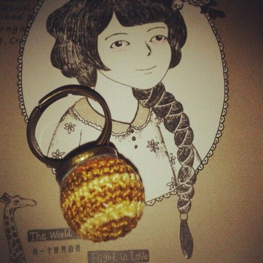Crocheted ring