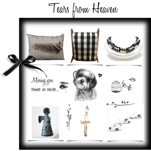 Tears from Heaven by cozeequilts on Polyvore