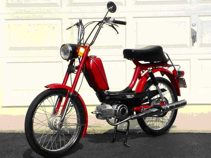 1978 puch moped vintage 1978 puch sears freespirit moped for Electric motor rebuild shop near me
