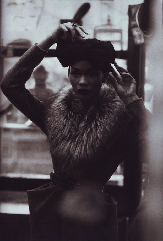 """""""Fashion and All That Jazz"""": Chanel Iman and Arlenis Sosa in Jazz Age Harlem for Peter Lindbergh for US Harper's Bazaar"""