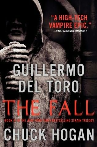 The Fall is the second book in The Strain Trilogy by Chuck Hogan and famed filmmaker Guillermo Del Toro. Description from barnesandnoble.com. I searched for this on bing.com/images