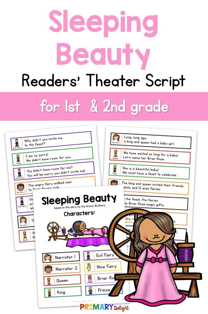 Sleeping Beauty Readers Theater Guided Reading Sleeping Beauty Readers Theater Sleeping Readers Theater High School Art Lesson Plans First Grade Reading