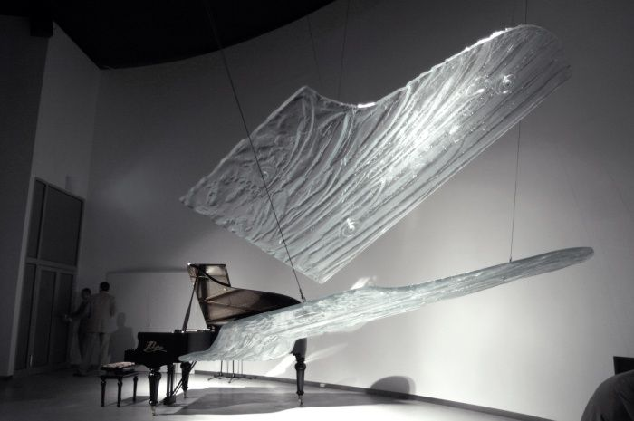 'Soul of Piano' by Tomasz Urbanowicz Expo 2005 Polish Pavilion