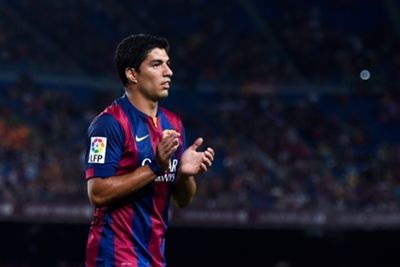 Suspended Barcelona striker Luis Suarez has been included in the Uruguay squad for upcoming friendly matches against Saudi Arabia and Oman. He is set to come back from FIFA's four-month ban for a debut in a Clasico match with Barca against Real Madrid on October 25.