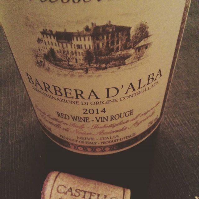 Rigatoni gratiné avec le plaisir d'un #vino #barberadalba 2014  #italie #degustation #sommelier #tchin