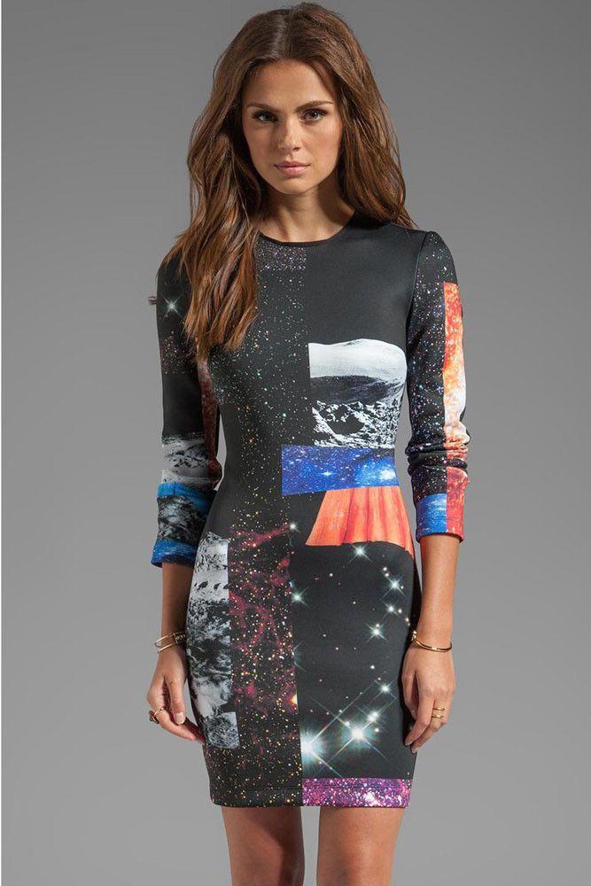 Impression Robes Femmes En Robe Drole Miel Pas Cher www.modebuy.com @Modebuy #Modebuy #CommeMontre #me #dress