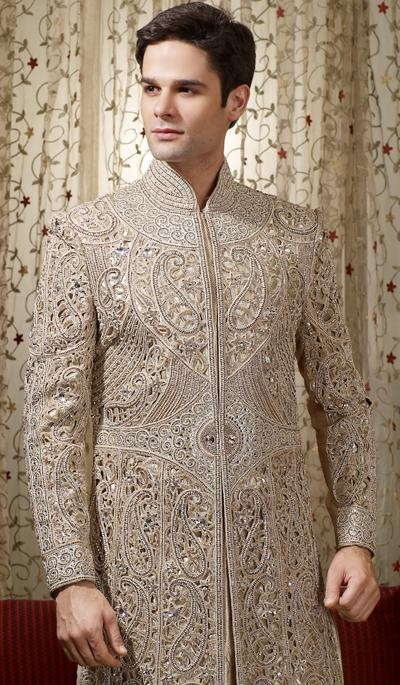 G3 Fashions Off Beige Embroidered Wedding Sherwani Product Code : G3-MSH10000098 Price : INR RS 82950