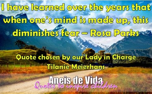Quote from our lady in charge @tilaniemeierhan :)  #InspiringChildren