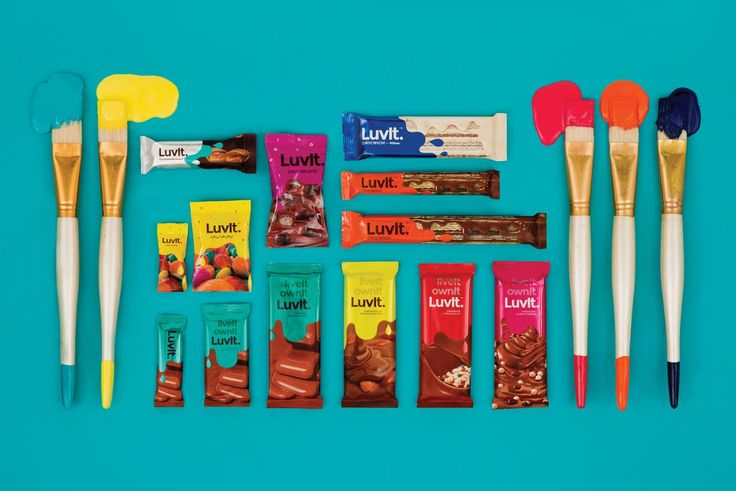 LuvIt Chocolates on Packaging of the World - Creative Package Design Gallery