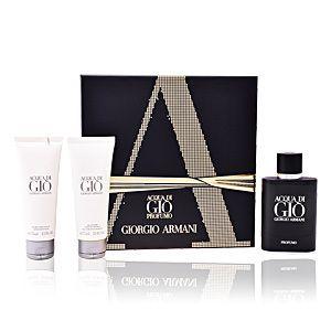 ACQUA DI GIO PROFUMO LOTE 3 pz é um artigo premium de GIORGIO ARMANI(Giorgio Armani é um designer de moda italiano particularmente notado pela sua moda masculina.). Na Essência do Perfume temos uma ampla selecção de Perfumes ACQUA DI GIO PROFUMO LOTE 3 pz da melhor qualidade e ao melhor preço.