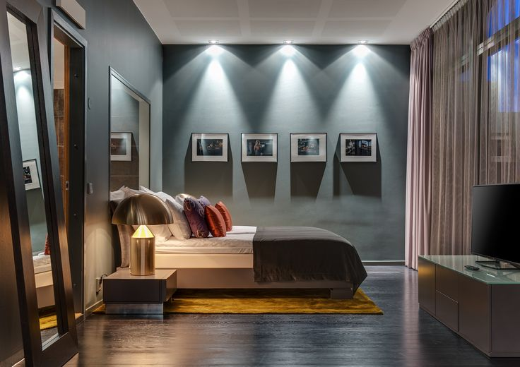 Stunning bedroom at Quality Hotel Globe Stockholm