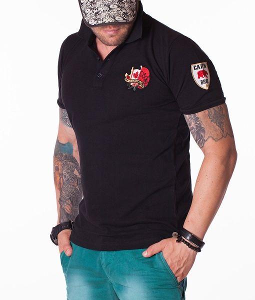 Dsquared Tricouri Polo - Caten Bros tricou polo negru