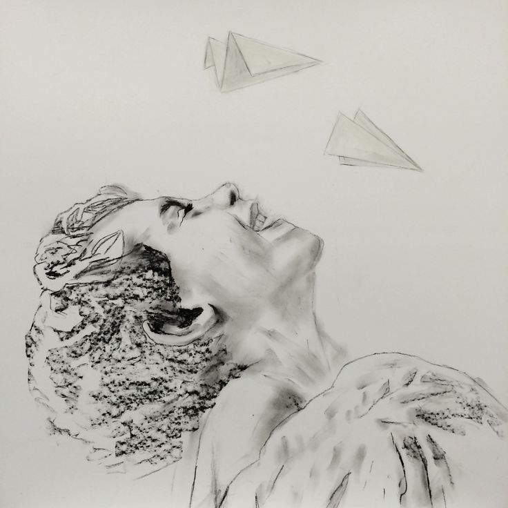 Untitled, charcoal and acrylic on paper, 100x100 cm. Vastiane Tamayo.