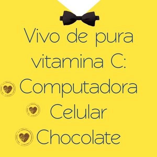 Vivir de Vitamina C: