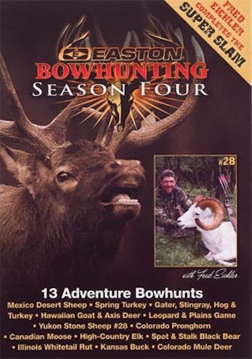 EASTON - Bow hunting TV - DVD Season 4