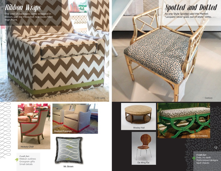 Trends: Ribbon Wraps & Spotted and Dotted #hpmkt