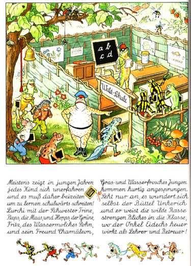 """Die Waldschule""  (""The Forest School"")"