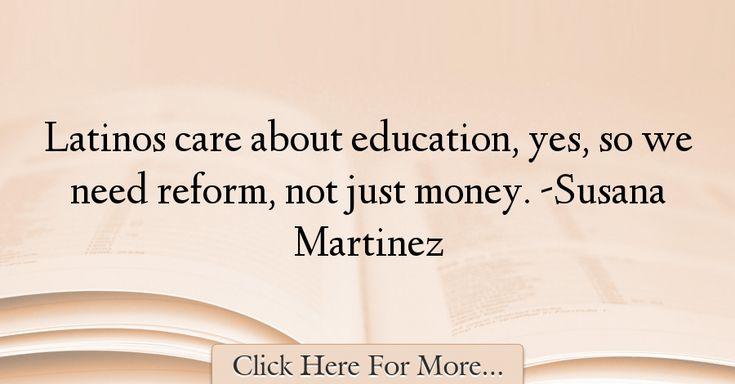 Susana Martinez Quotes About Education - 16636
