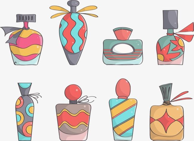Vector Cartoon Color Perfume Bottle Perfume Clipart Cartoon Vector Color Vector Png Transparent Clipart Image And Psd File For Free Download Fragrance Illustration Fragrance Photography Perfume Design