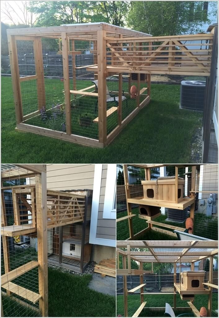 10 Super Cool Cat Houses and Cabins for Your Kitty 10