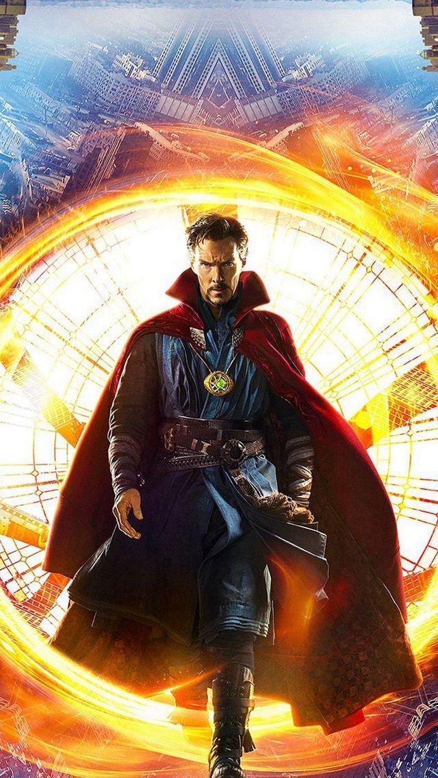 Disney Doctor Strange Poster Art Illustration iPhone 5s