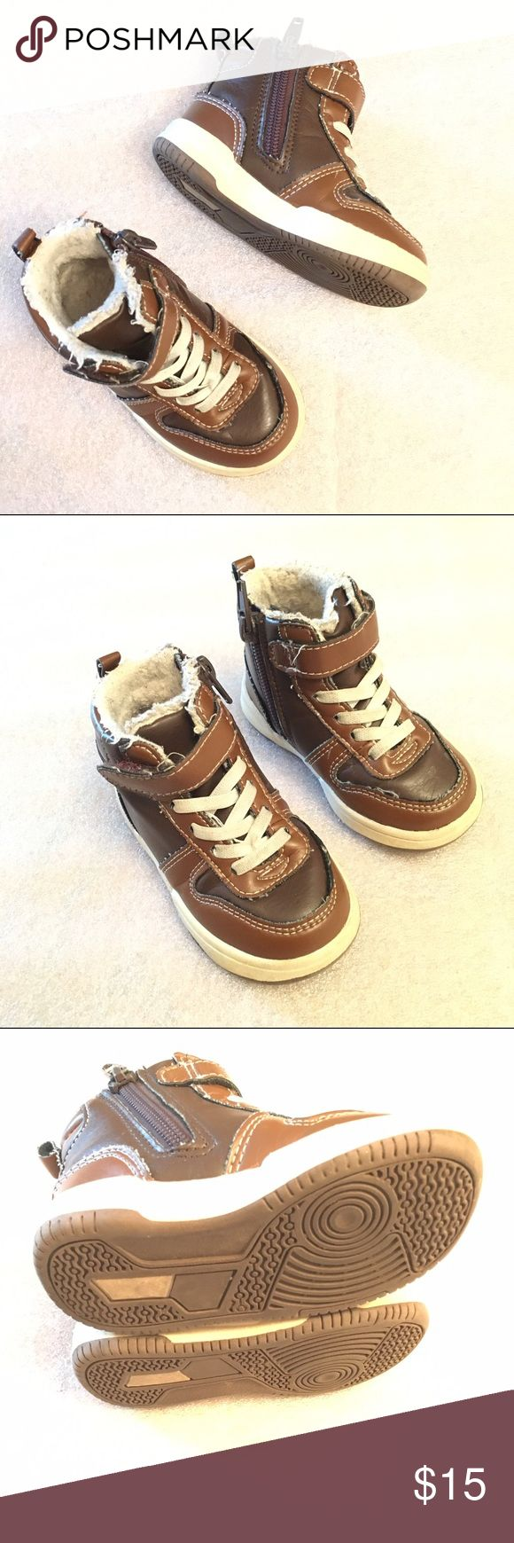 Baby high top boots Size 4-5 GUC H&M Shoes Boots