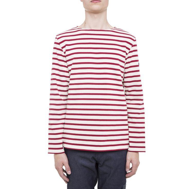 Ecru & Persan Classic striped top