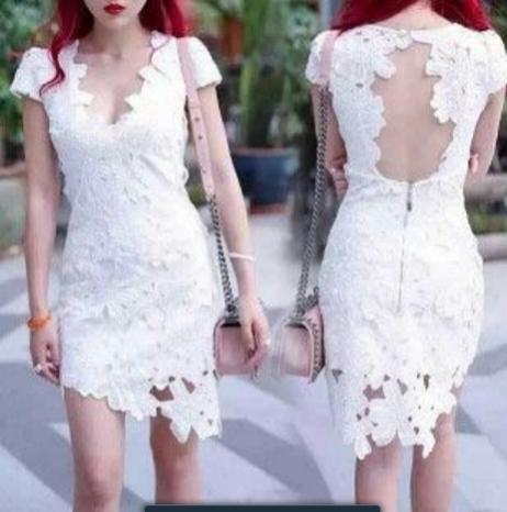 JulpShop Fashion Dress Wanita 11  Ukuran : M & L  Warna : Hitam, Putih