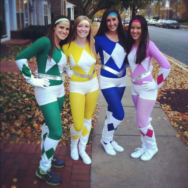 homemade power ranger costumes - Google Search
