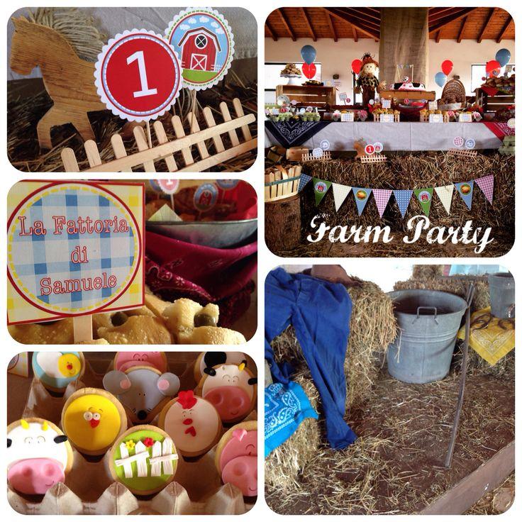 Allestimento festa a tema fattoria, primo compleanno  #farmparty #partyideas #allestimentofestafattoria #partyplanner #festaatema