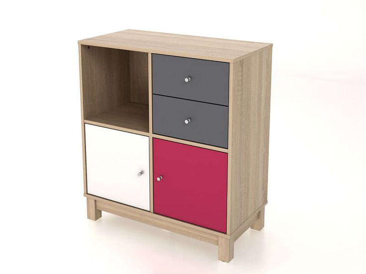 rangement 2 portes 2 tiroirs 1 niche shirley vente de. Black Bedroom Furniture Sets. Home Design Ideas