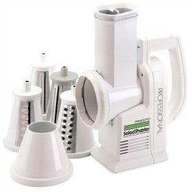 The Presto 02970 is an electric food slicer that adapts the precision features of traditional commercial slicers to provide consumers with professional performance at home.