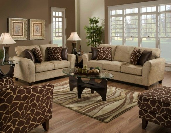 Living Rooms With Cream Couches   Google Search.. Like Animal Print With  Cream! Photo