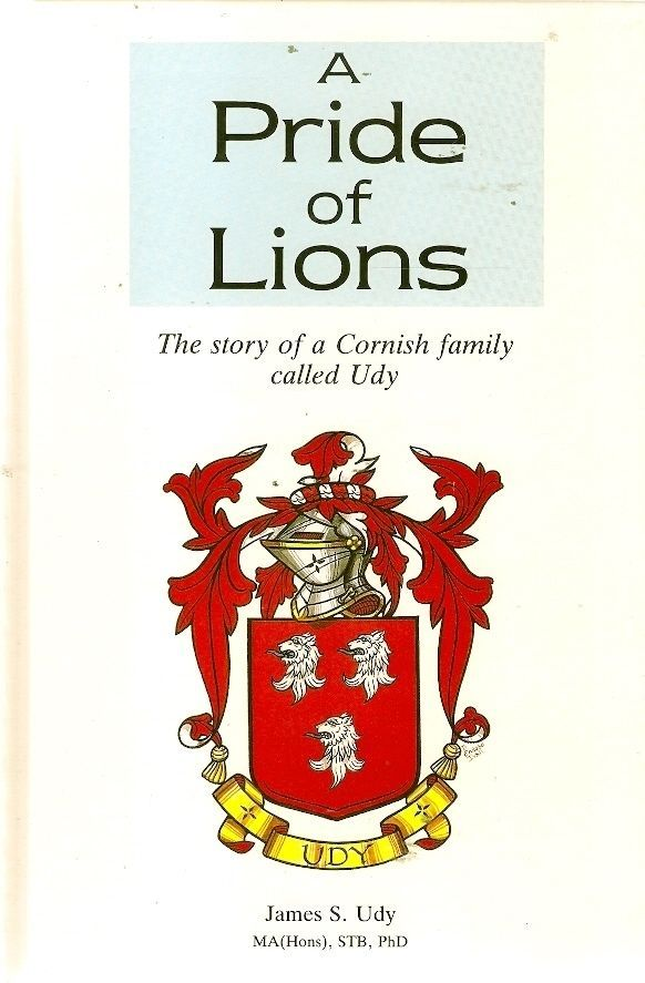udy family cornwall england history genealogy coat of arms new south wales nsw