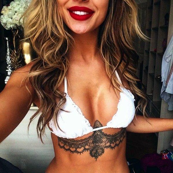 Underboob Tattoos Designs for Women (74)