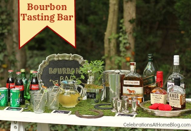 bourbon tasting barDerby Party, Kentucky Derby Decorations, Taste Parties, Parties Ideas, Parties Guide, Parties Invitations, Derby Parties