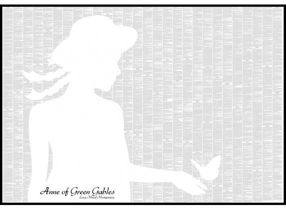 Anne of Green Gables - Book Poster - http://spinelessclassics.com.au/all-titles/anne-of-green-gables