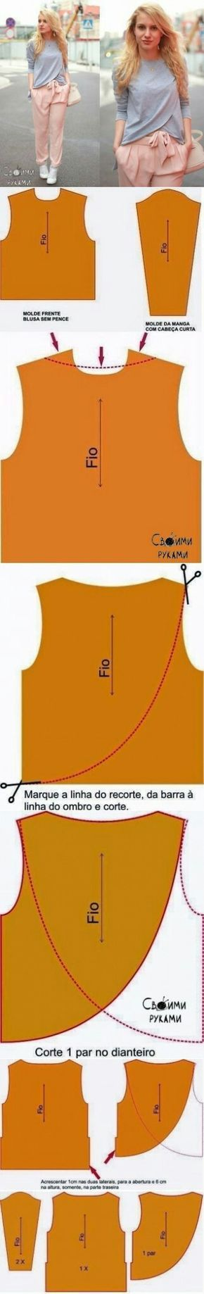 Unusual shirt with long..<3 Deniz <3