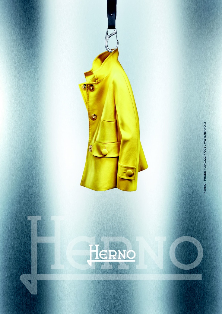 Unlined jacket  http://www.herno.it/index.php/en/collezioni/donna/prodotto/83