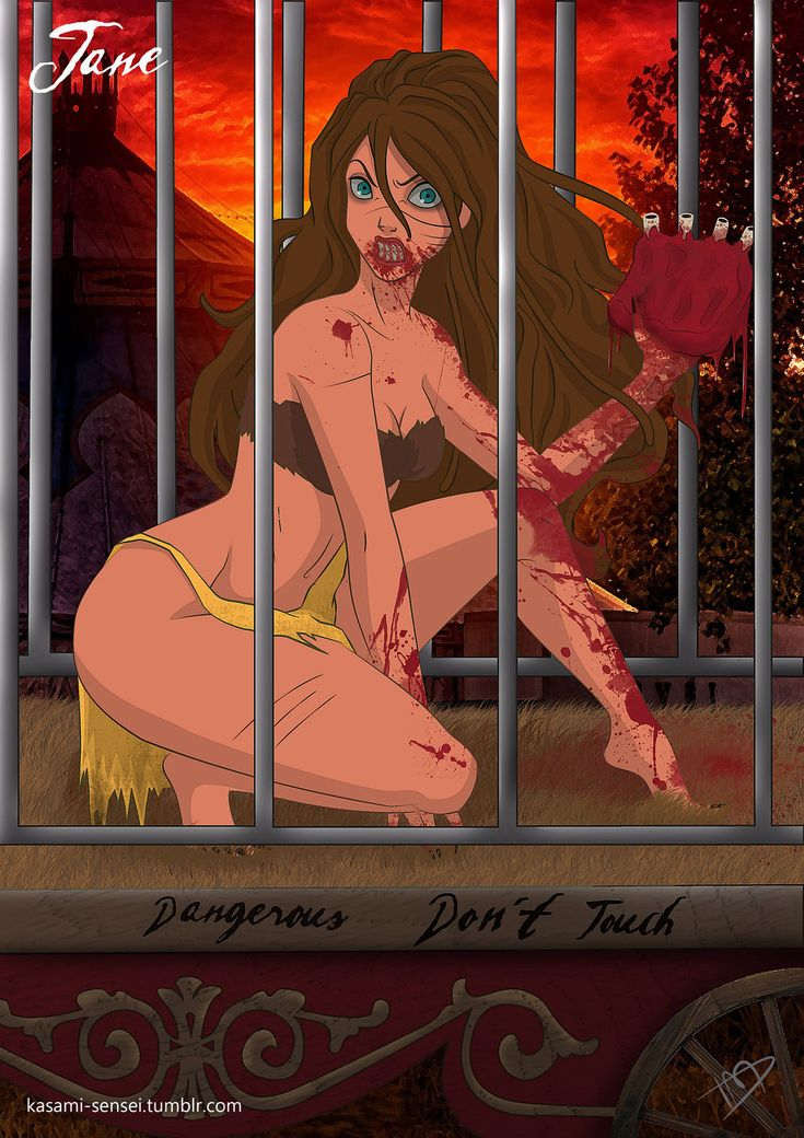 Twisted Jane by Kasami-Sensei.deviantart.com on @deviantART